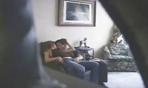 wonderful Hidden web cam And teenager fuck friends fucking On The sofa