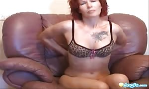 bf nails a dirty red head mom in her mouthwatering ass