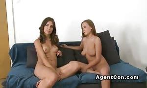 pretend agent pounds two sexy associates