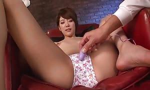 insane asian woman Makoto Yuukia in epic JAV uncensored Dildos/Toys flick fasten