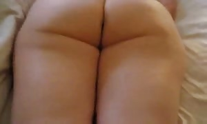 just shooting a vid with a hot booty slit of my girl-friend