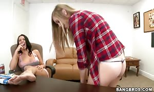 hot Rachel Starr having fun with her youngster good friend